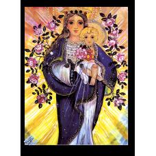Poster: Maria mit Kind